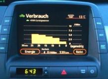 Verbrauchsmonitor Prius 2