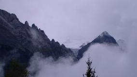 Die Alpen grüßen mit Schnee!