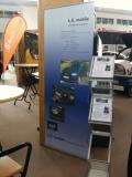 L.E. mobile booth at eCarTec