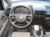 Cockpit Audi A2 before Phoenix
