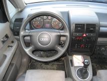 Cockpit Audi A2 before Phoenix