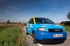 R100 Audi A2 electric Halberstadtwerke