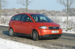 R100 Audi A2 electric Quedlinburg
